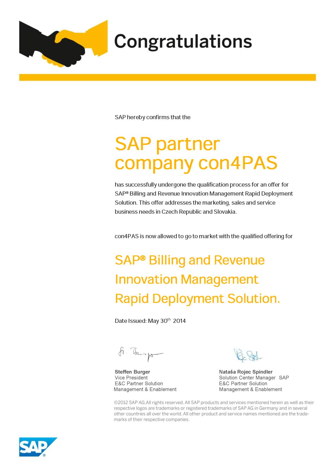Certificates con4pas rds certificate for sap brim 1betcityfo Choice Image