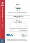 ISO QMS Certificate - Arabic