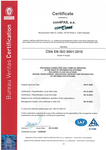 ISO QMS Certificate - English